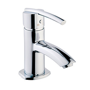 Wickes Versaille Compact Basin Mixer Tap - Chrome