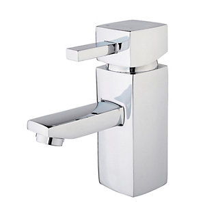 Wickes Yaran Basin Mixer Tap - Chrome