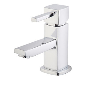 Wickes Yaran Compact Basin Mixer Tap - Chrome