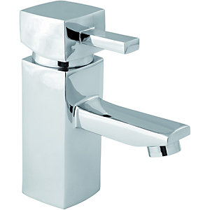Wickes Yaran Mono Basin Mixer Tap Chrome