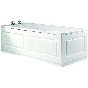 Wickes Bath Front Panel - Glacier White 1700mm