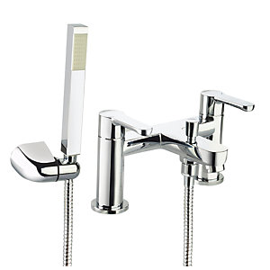 Bristan Nero Bath Shower Mixer Tap - Chrome
