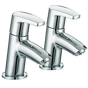 Bristan Orta Bath Taps - Chrome