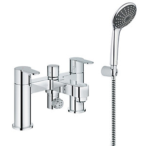 GROHE Wave Cosmo Bath Shower Mixer Tap - Chrome