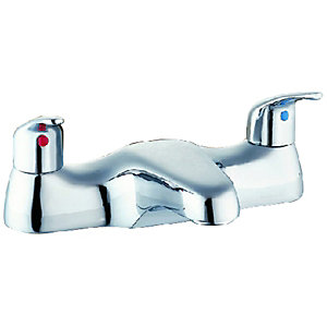 Wickes Bath Mixer Tap - Chrome