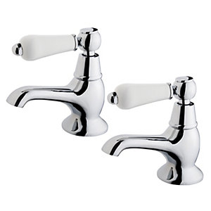 Wickes Enchanted Bath Taps - Chrome