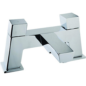 Wickes Kuban Bath Filler Tap - Chrome