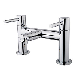 Wickes Mirang Bath Filler Tap - Chrome