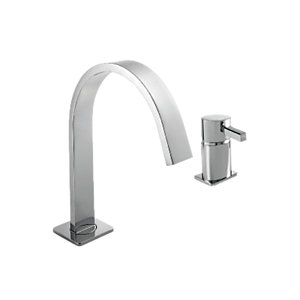 Wickes Salluzzo Bath Filler Tap - Chrome