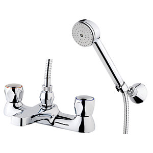 Wickes Trade Bath Shower Mixer Tap - Chrome