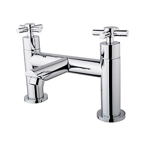 Wickes Trivor Bath Filler Tap - Chrome