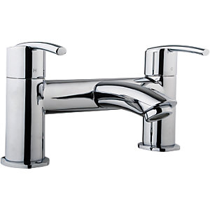 Wickes Versaille Bath Mixer Tap - Chrome