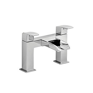 Wickes Waterfall Bath Filler Tap - Chrome