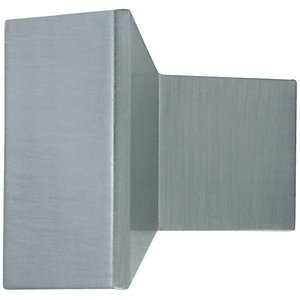 Wickes Bathroom Unit Square Knob Handle - Stainless Steel 35mm