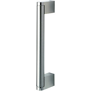 Wickes Stainless Steel Bar Handle for Bathrooms - 160mm