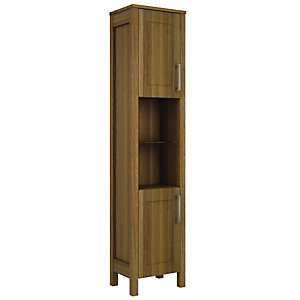 Wickes Frontera Walnut Freestanding Tall Tower Unit 410 Mm