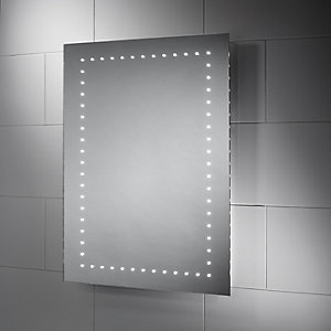Wickes Dakota LED Bathroom Mirror - 600mm