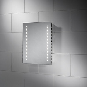 Wickes Malmo LED Bathroom Mirror - 390mm