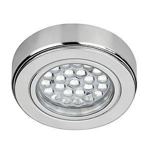 Wickes Surface / Recessed LED Cabinet Light Cool White with 15W Driver