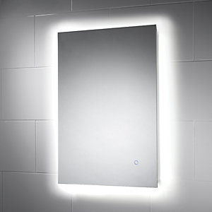 Wickes Meribel Touch Sensor Backlit LED Mirror