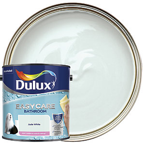 Dulux Easycare Bathroom Soft Sheen Emulsion Paint - Jade White 2.5L