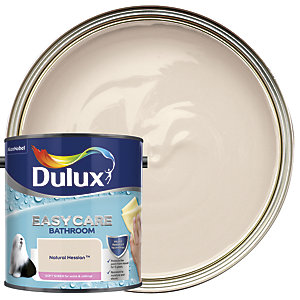 Dulux Easycare Bathroom Soft Sheen Emulsion Paint - Natural Hessian 2.5L