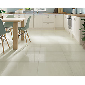 Boutique Lustral Bone Glazed Porcelain Tile 600 x 600mm
