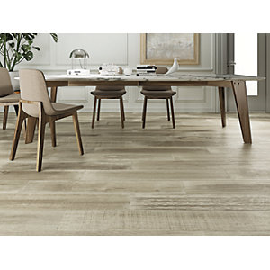 Boutique Oslo Oak Glazed Porcelain Wood Effect Tile 1200 x 200mm