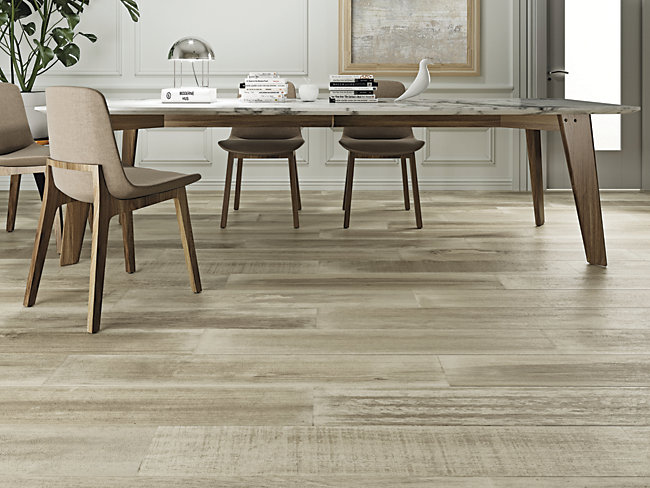 Oslo Oak GreyWood Effect Glazed Porcelain Tile