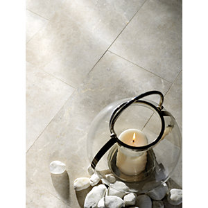 Boutique Platinum Polished Marble Tile 610 x 406mm