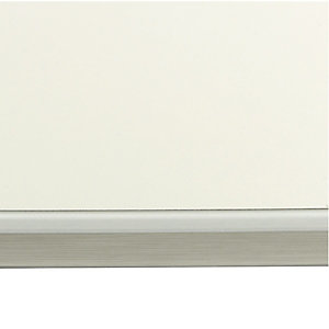 Wickes Bathroom Worktop - White Glass Effect 2000mm