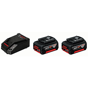 Bosch 12 V 2.0Ah Battery Starter Set with 2 Batteries