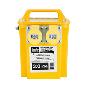 Defender 3kVA Portable Transformer - 110V