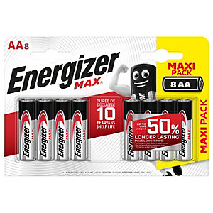 Energizer Max AA Batteries - Pack of 8