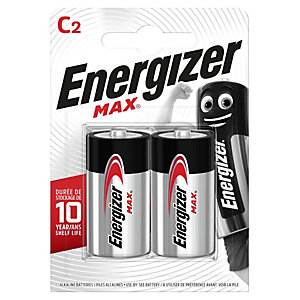Energizer Max C Batteries - Pack Of 2