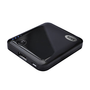 Ross Portable Power Pack - Black 2000mAh
