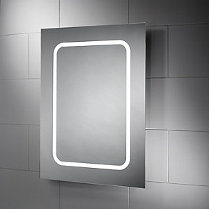 Wickes Alaska Diffused LED Bathroom Mirror - 600mm