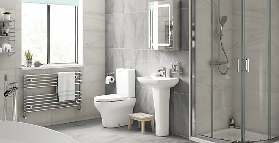 Showroom Bathroom Products* when you spend £1,000+