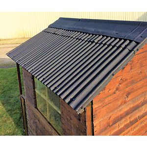 Watershed Roofing Kit for 6 x 8ft Apex Roof - WA12-400-320