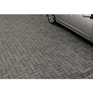 Marshalls Driveline Priora Block Paving - Charcoal 200 x 100 x 60mm Pack of 404