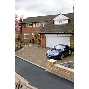 Marshalls Drivesett Tegula Driveway Block Paving - Hazelnut 240 x 160 x 50mm Pack of 284