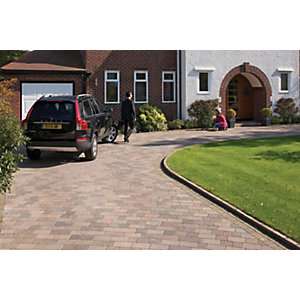 Marshalls Drivesett Tegula Driveway Block Paving - Traditional 160 x 160 x 50mm Pack of 426