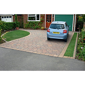 Marshalls Drivesett Tegula Priora Driveway Block Paving - Traditional 160 x 160 x 60mm Pack of 348