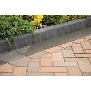 Marshalls Keykerb Edging - Charcoal 127 x 100 x 200mm Pack of 252