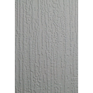 Graham & Brown Superfresco Paintable Bark Textured Blown Vinyl Wallpaper White - 10m