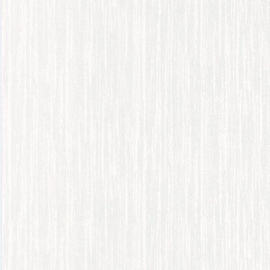 Graham & Brown Textured Blown Vinyl Wallpaper Bark White - 10m