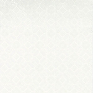 Graham & Brown Textured Blown Vinyl Wallpaper Victorian White - 10m