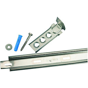 Wickes 1165mm Stainless Steel Wall Starter  - Pack of 2