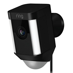 Ring Hardwired Spotlight Camera - Black