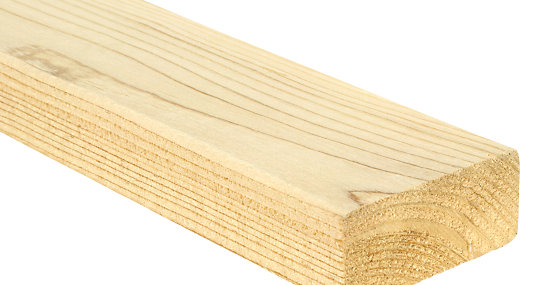 Timber | Studwork, Treated, Planed, Kiln Dried | Wickes
